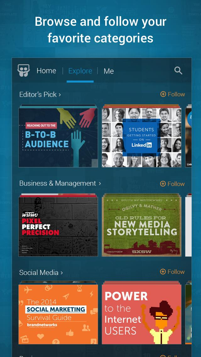 LinkedIn SlideShare 1.6.8 Screenshot 2