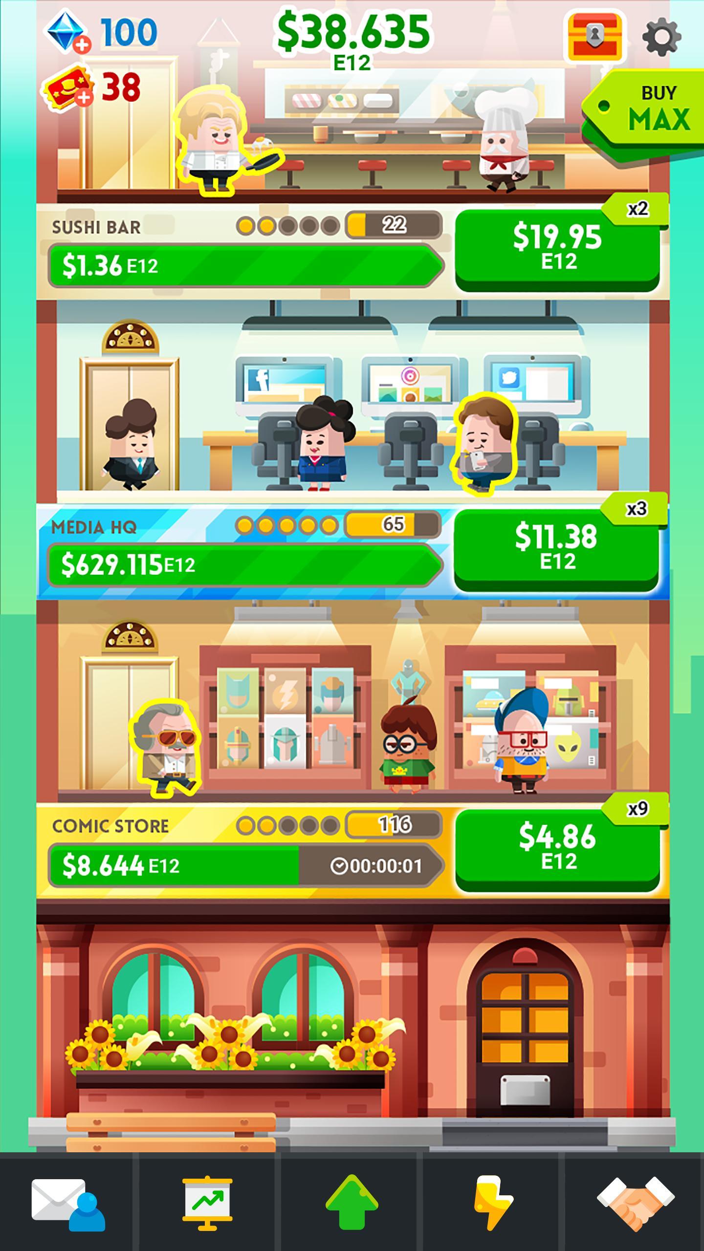 Cash, Inc. Money Clicker Game & Business Adventure 2.3.7.1.0 Screenshot 10