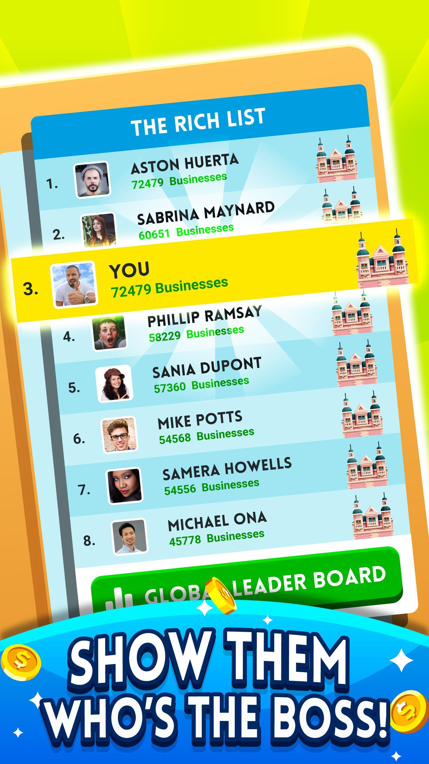 Cash, Inc. Money Clicker Game & Business Adventure 2.3.7.1.0 Screenshot 12