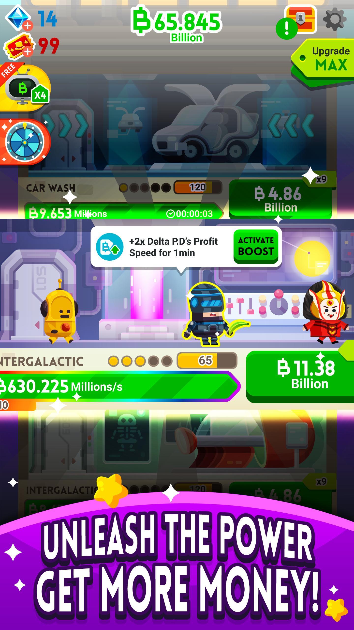 Cash, Inc. Money Clicker Game & Business Adventure 2.3.7.1.0 Screenshot 14