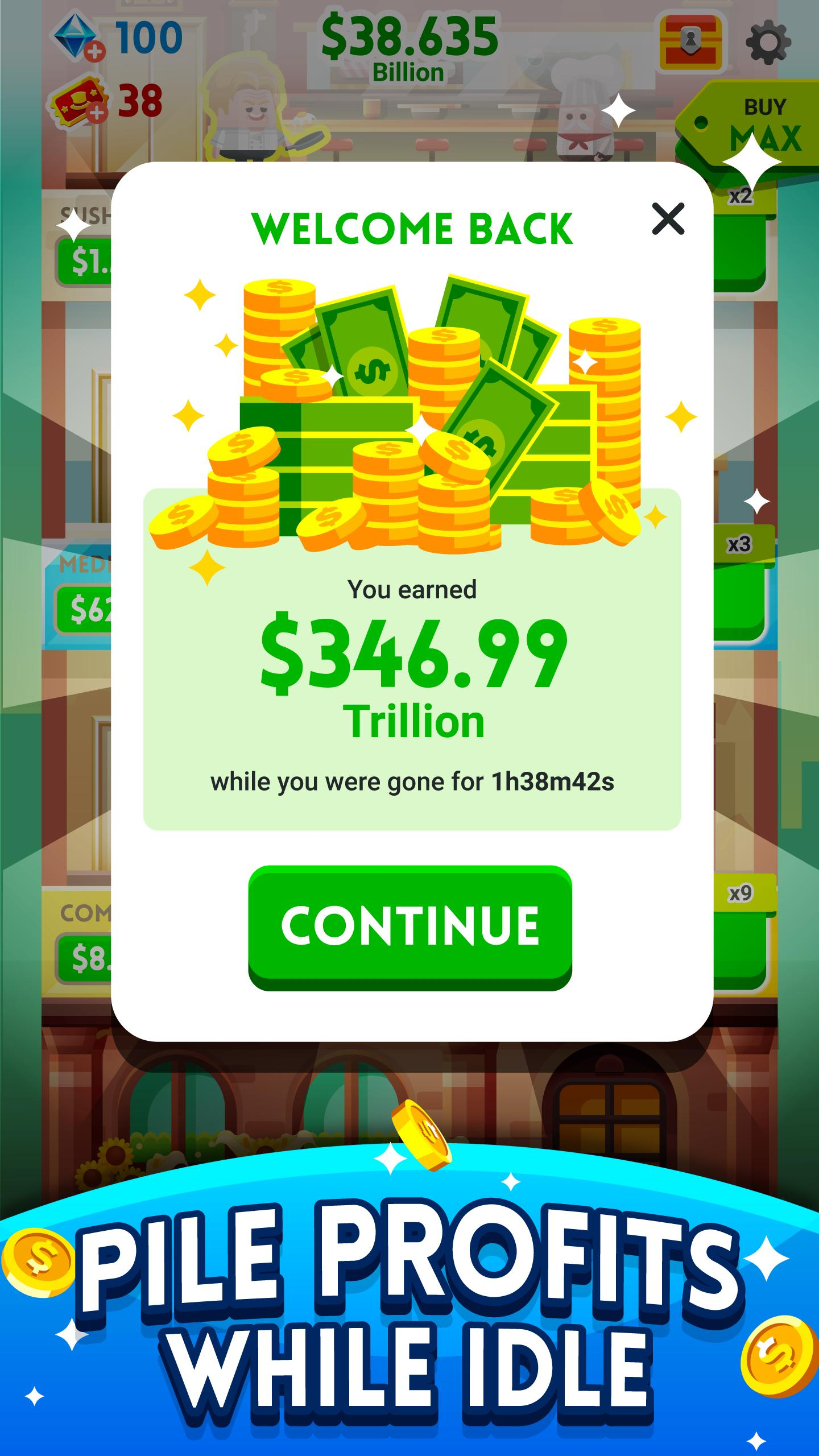 Cash, Inc. Money Clicker Game & Business Adventure 2.3.7.1.0 Screenshot 15
