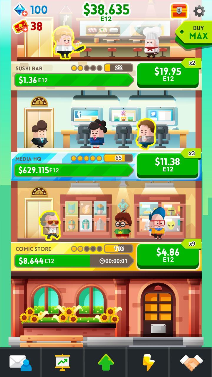 Cash, Inc. Money Clicker Game & Business Adventure 2.3.7.1.0 Screenshot 18