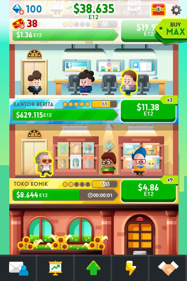 Cash, Inc. Money Clicker Game & Business Adventure 2.3.7.1.0 Screenshot 2