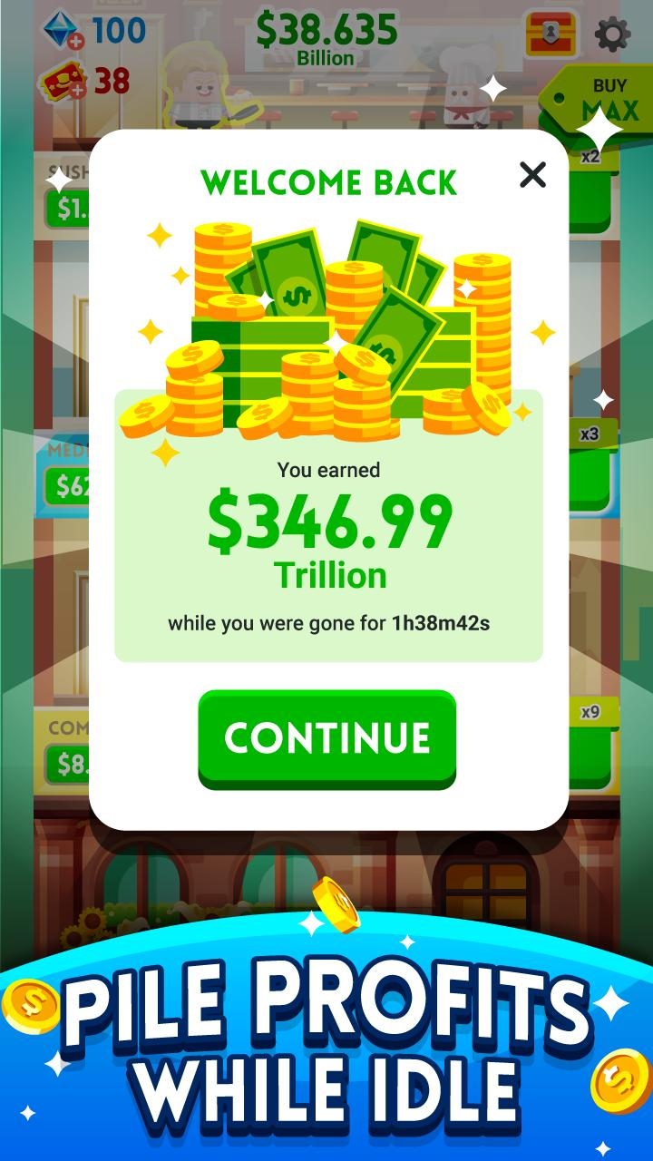 Cash, Inc. Money Clicker Game & Business Adventure 2.3.7.1.0 Screenshot 20