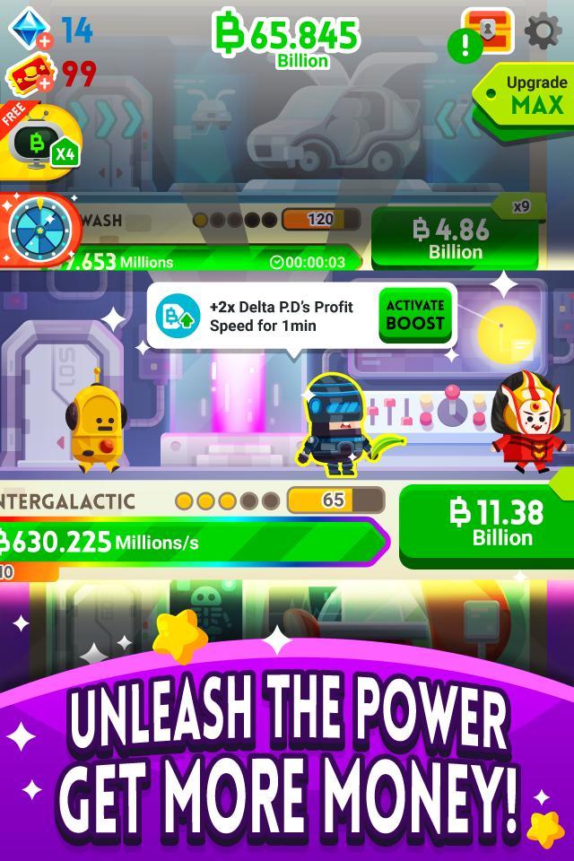 Cash, Inc. Money Clicker Game & Business Adventure 2.3.7.1.0 Screenshot 3