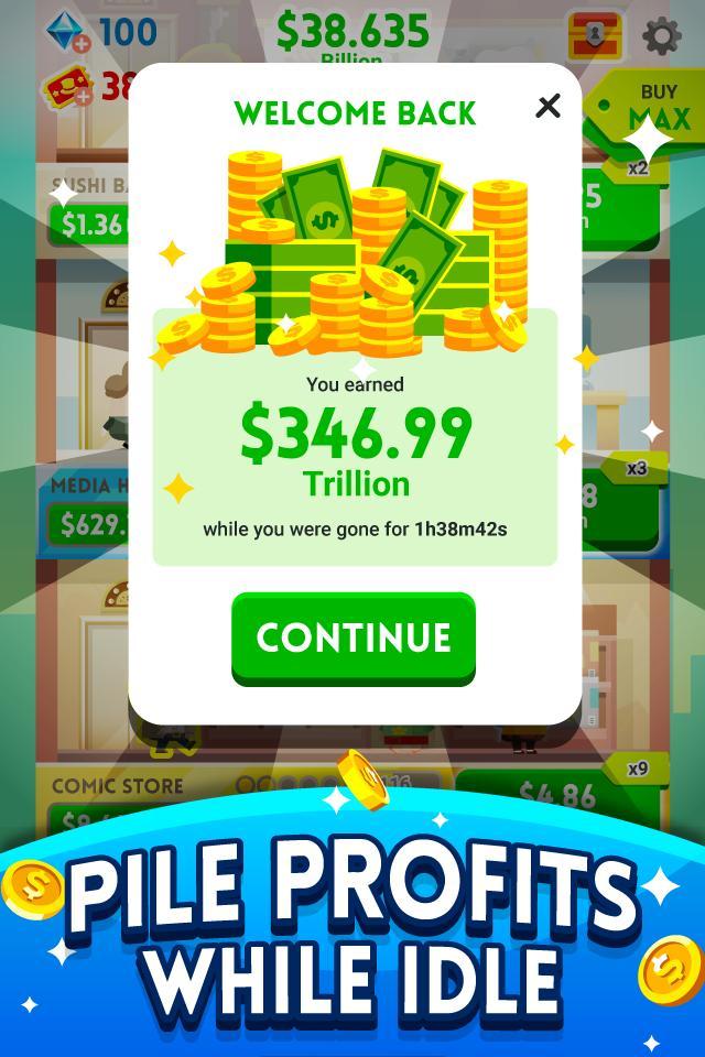Cash, Inc. Money Clicker Game & Business Adventure 2.3.7.1.0 Screenshot 4
