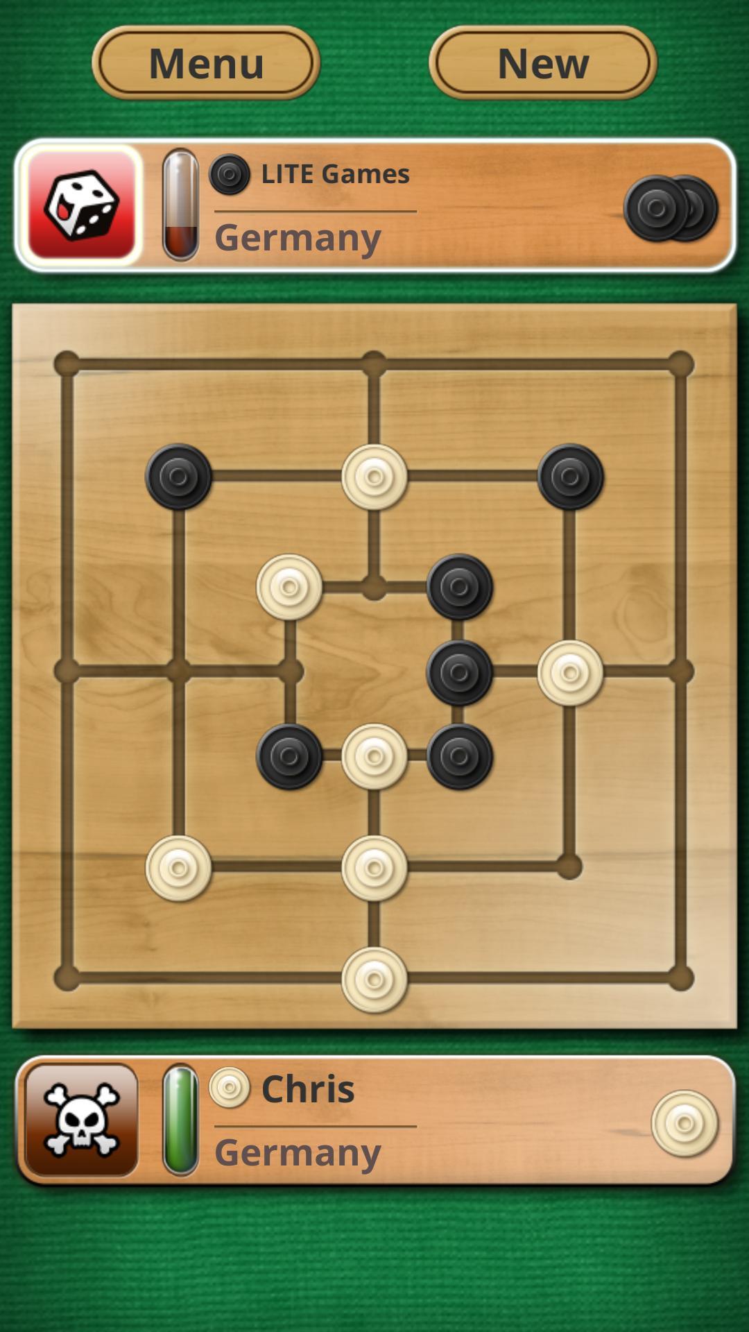 Nine men's Morris - Mills - Free online board game 2.8.11 Screenshot 1