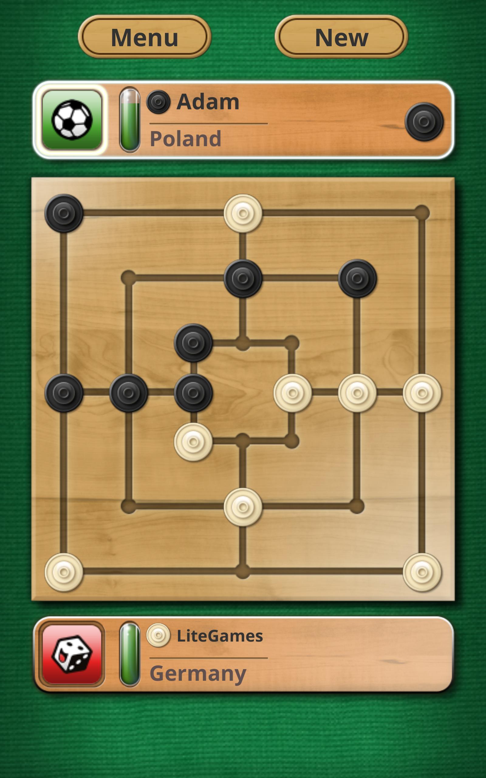 Nine men's Morris - Mills - Free online board game 2.8.11 Screenshot 12