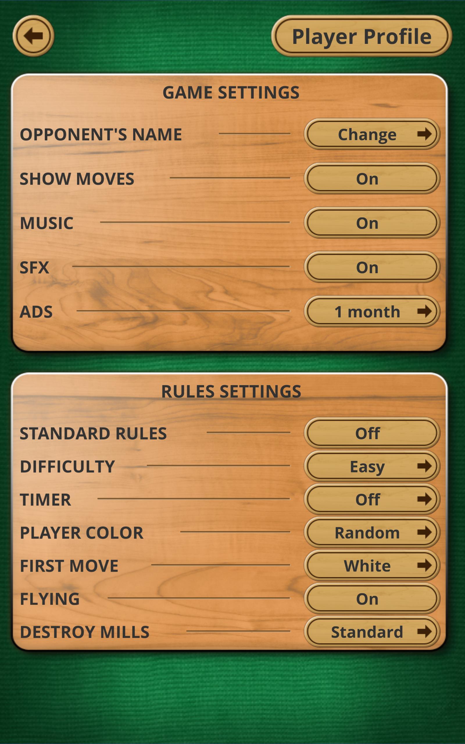 Nine men's Morris - Mills - Free online board game 2.8.11 Screenshot 13