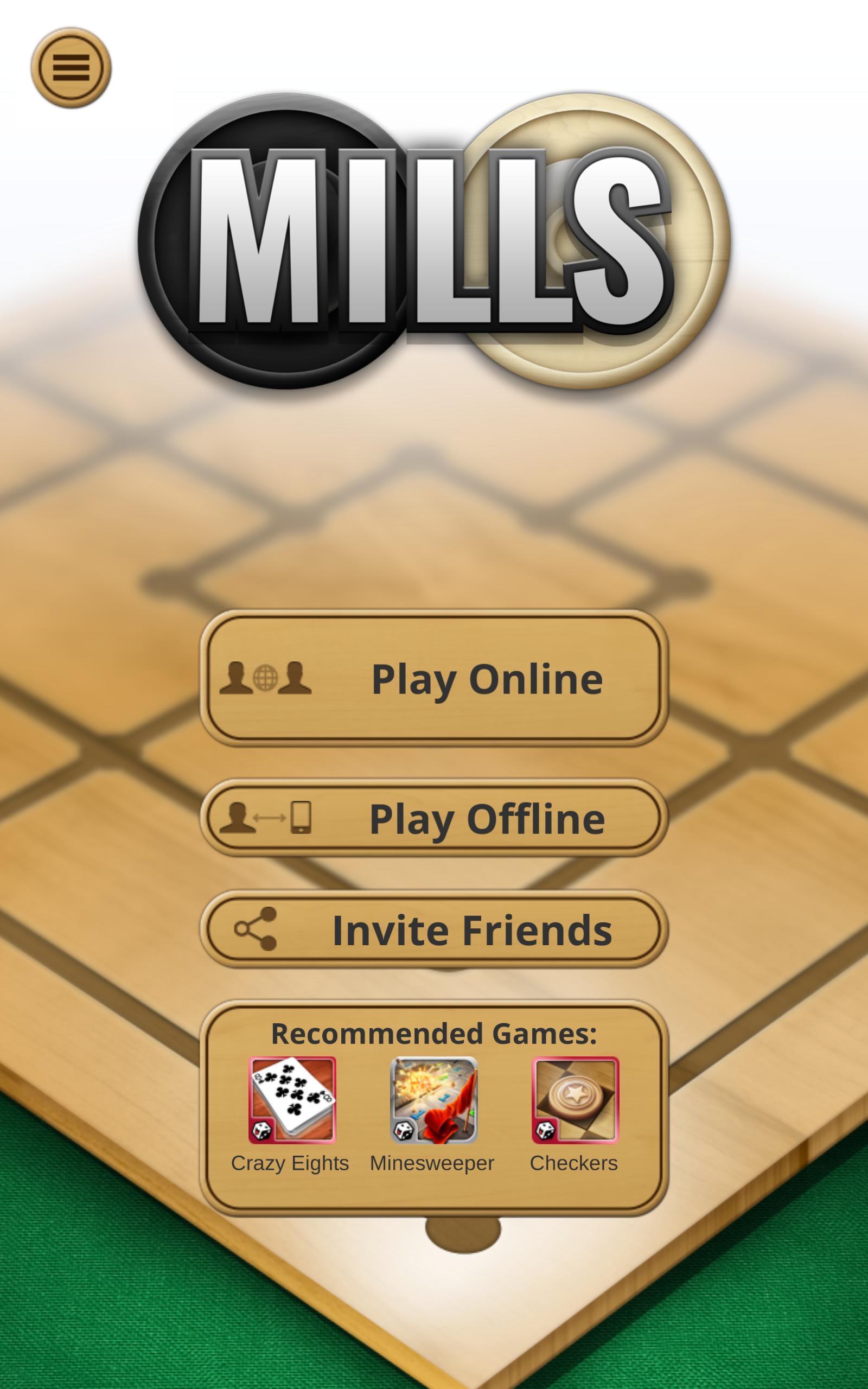 Nine men's Morris - Mills - Free online board game 2.8.11 Screenshot 16