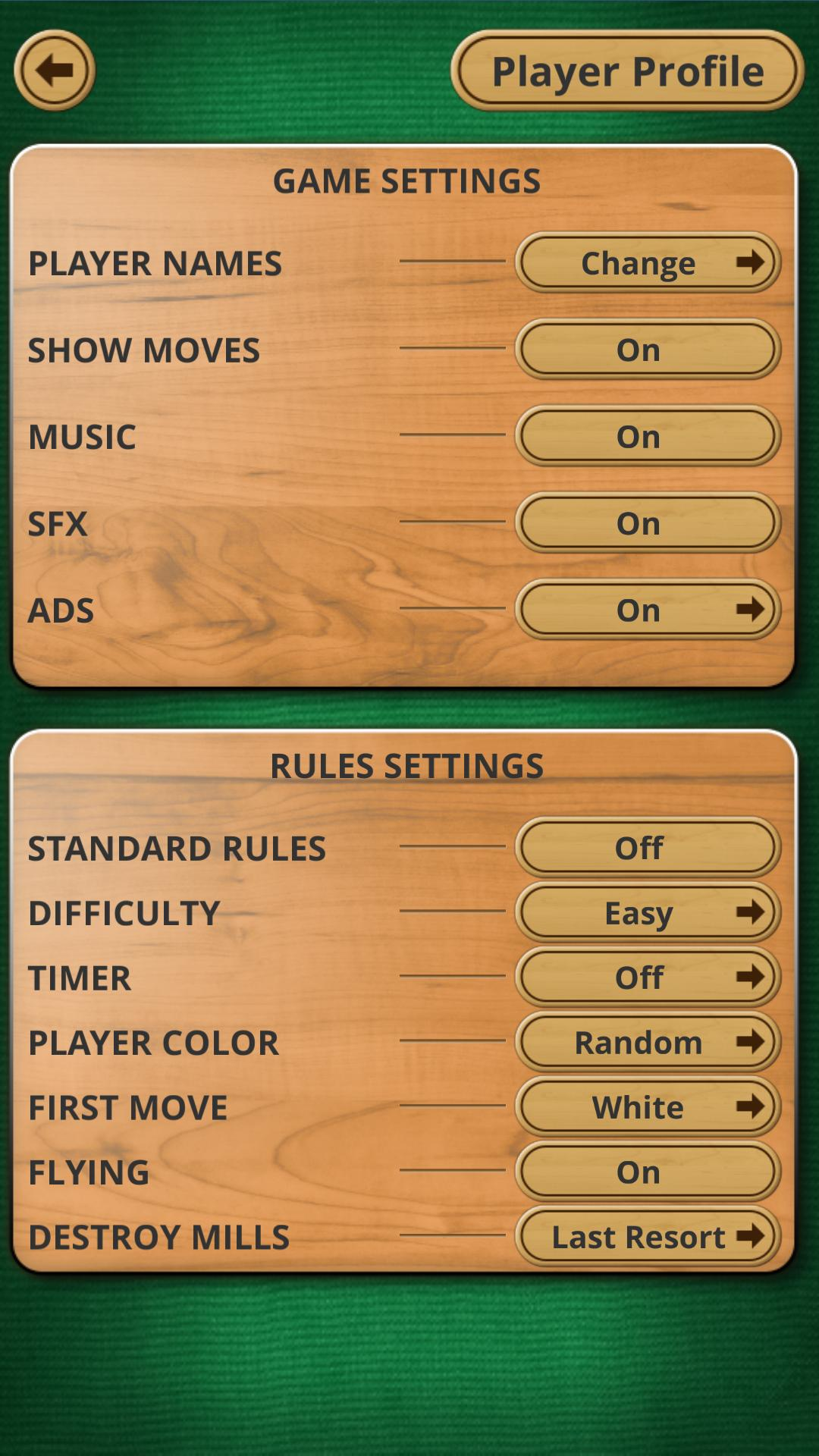 Nine men's Morris - Mills - Free online board game 2.8.11 Screenshot 2