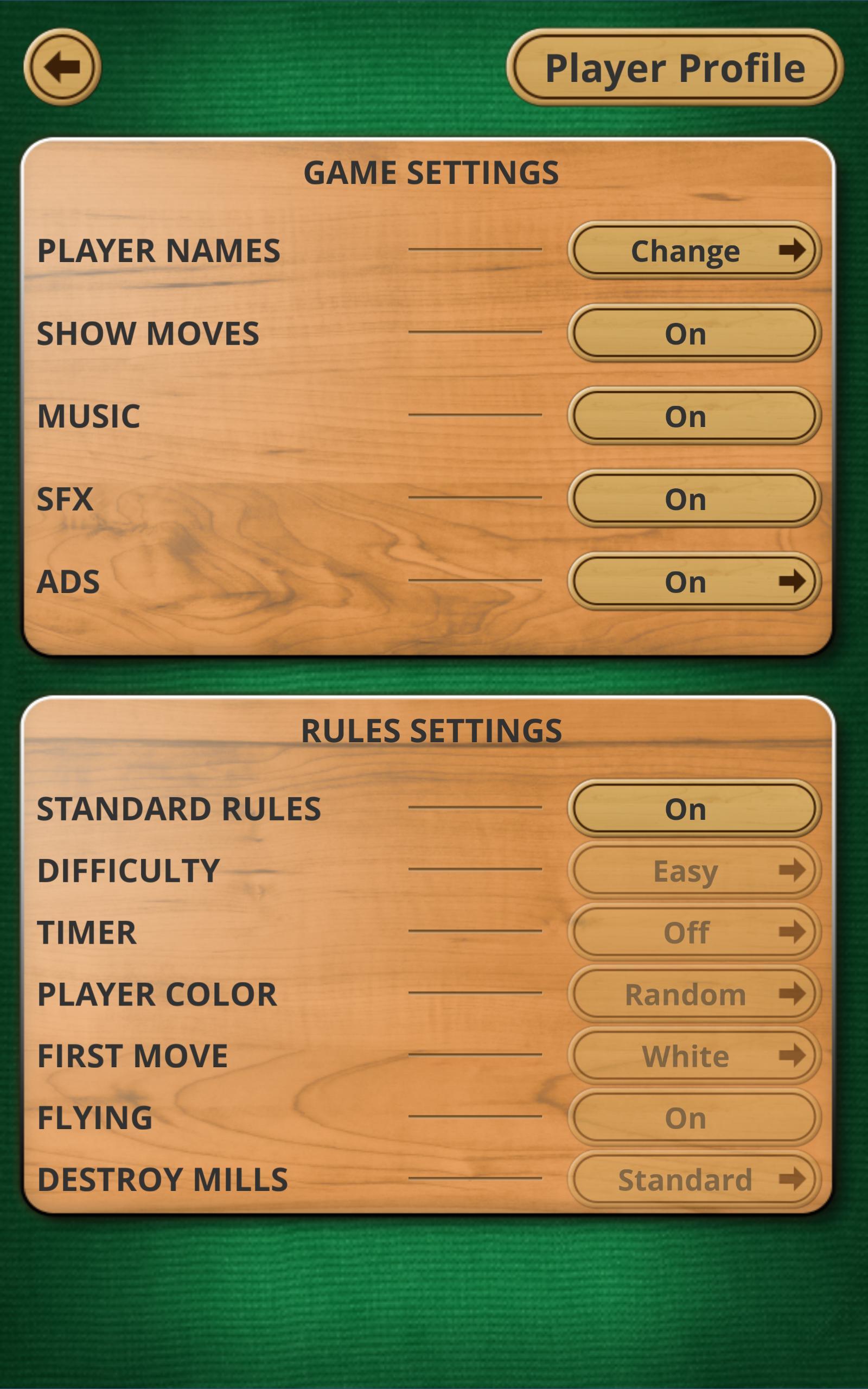 Nine men's Morris - Mills - Free online board game 2.8.11 Screenshot 8