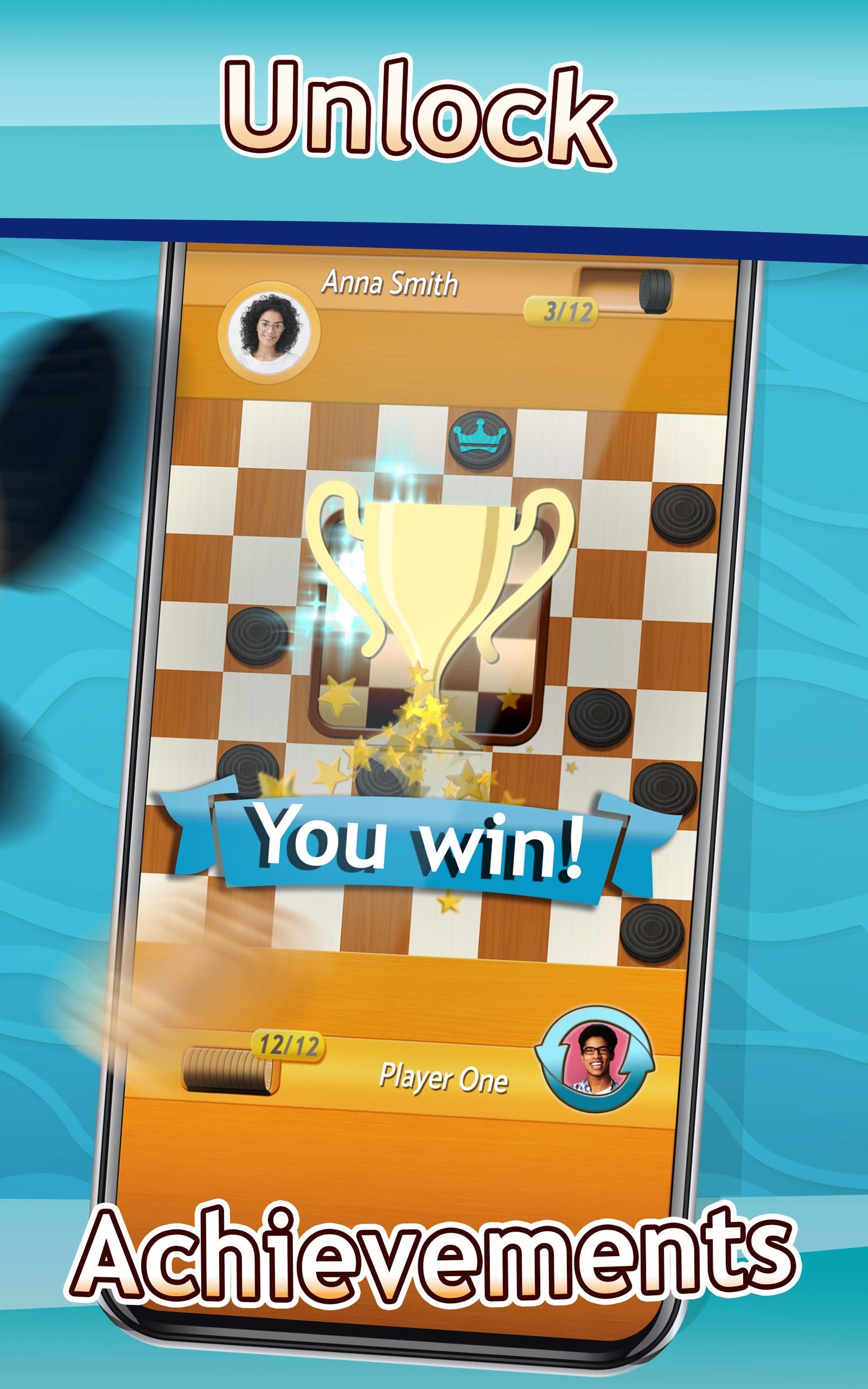 Checkers Draughts Multiplayer Board Game 2.4.4 Screenshot 10