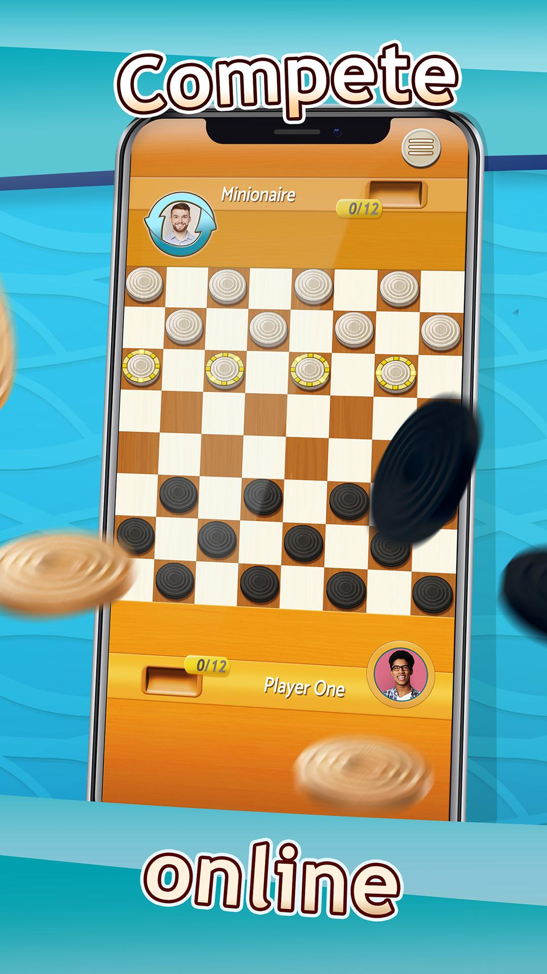 Checkers Draughts Multiplayer Board Game 2.4.4 Screenshot 3