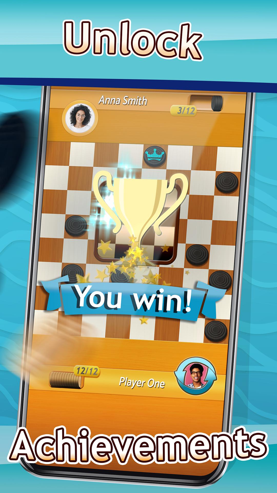Checkers Draughts Multiplayer Board Game 2.4.4 Screenshot 5
