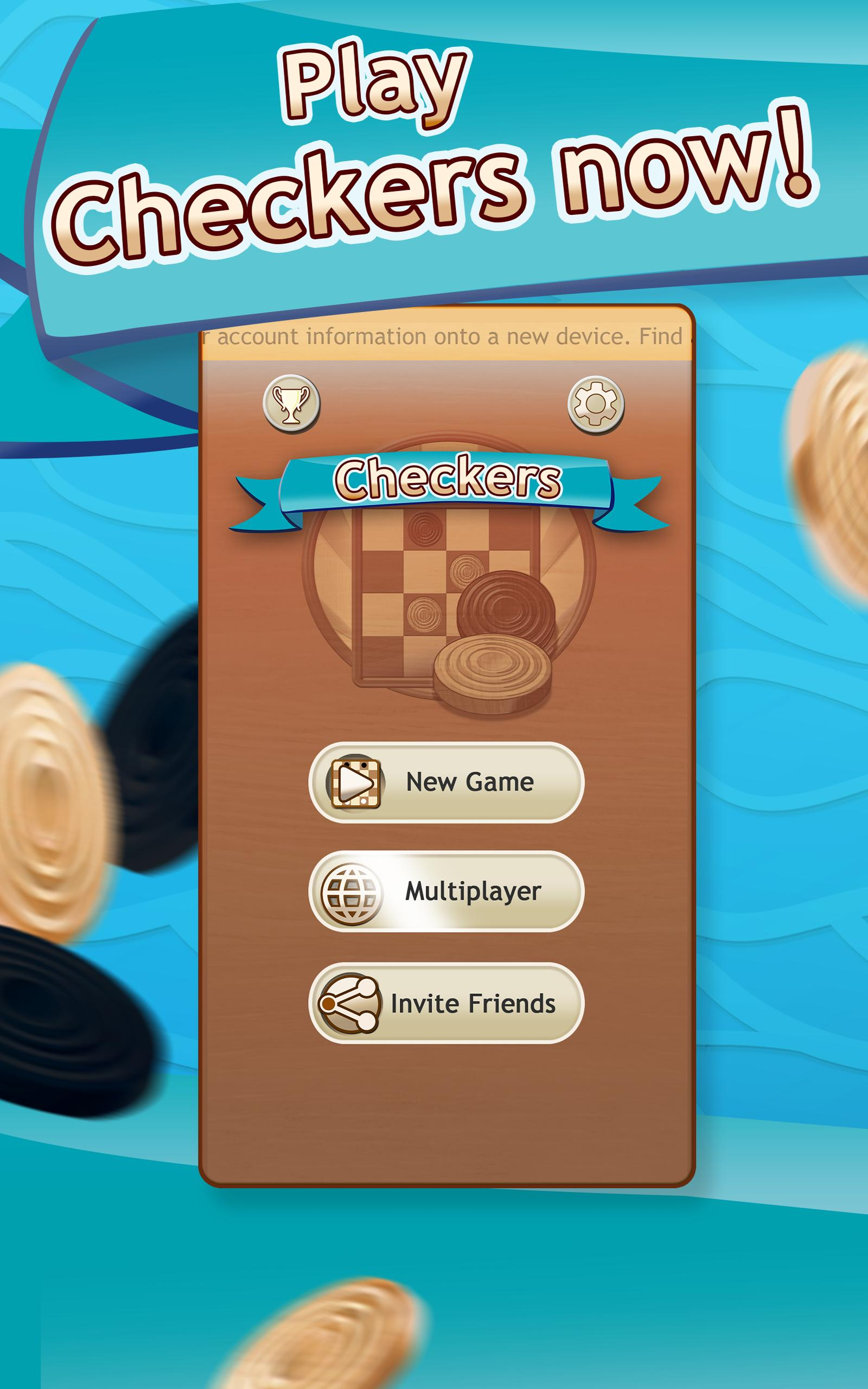 Checkers Draughts Multiplayer Board Game 2.4.4 Screenshot 6