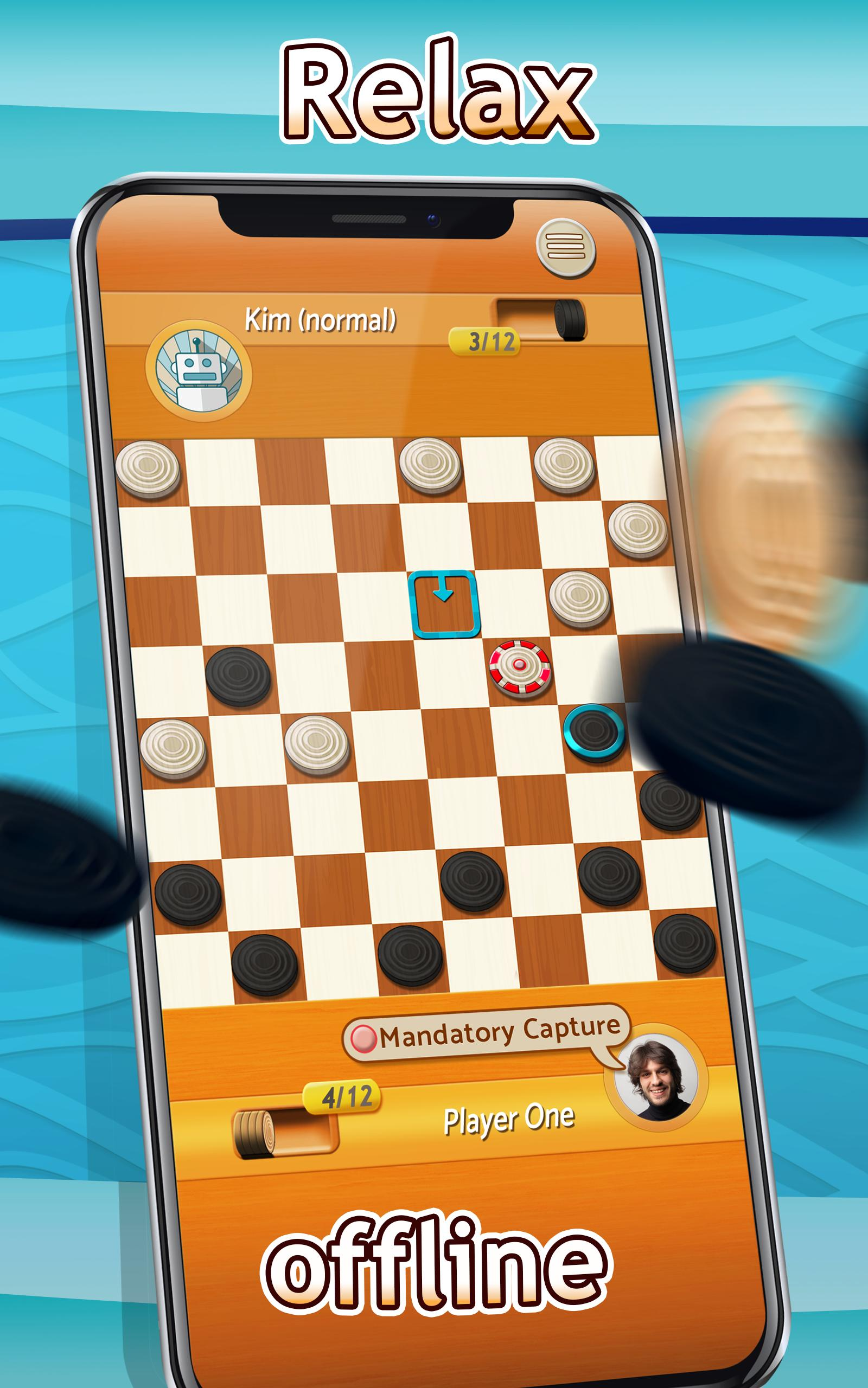 Checkers Draughts Multiplayer Board Game 2.4.4 Screenshot 7