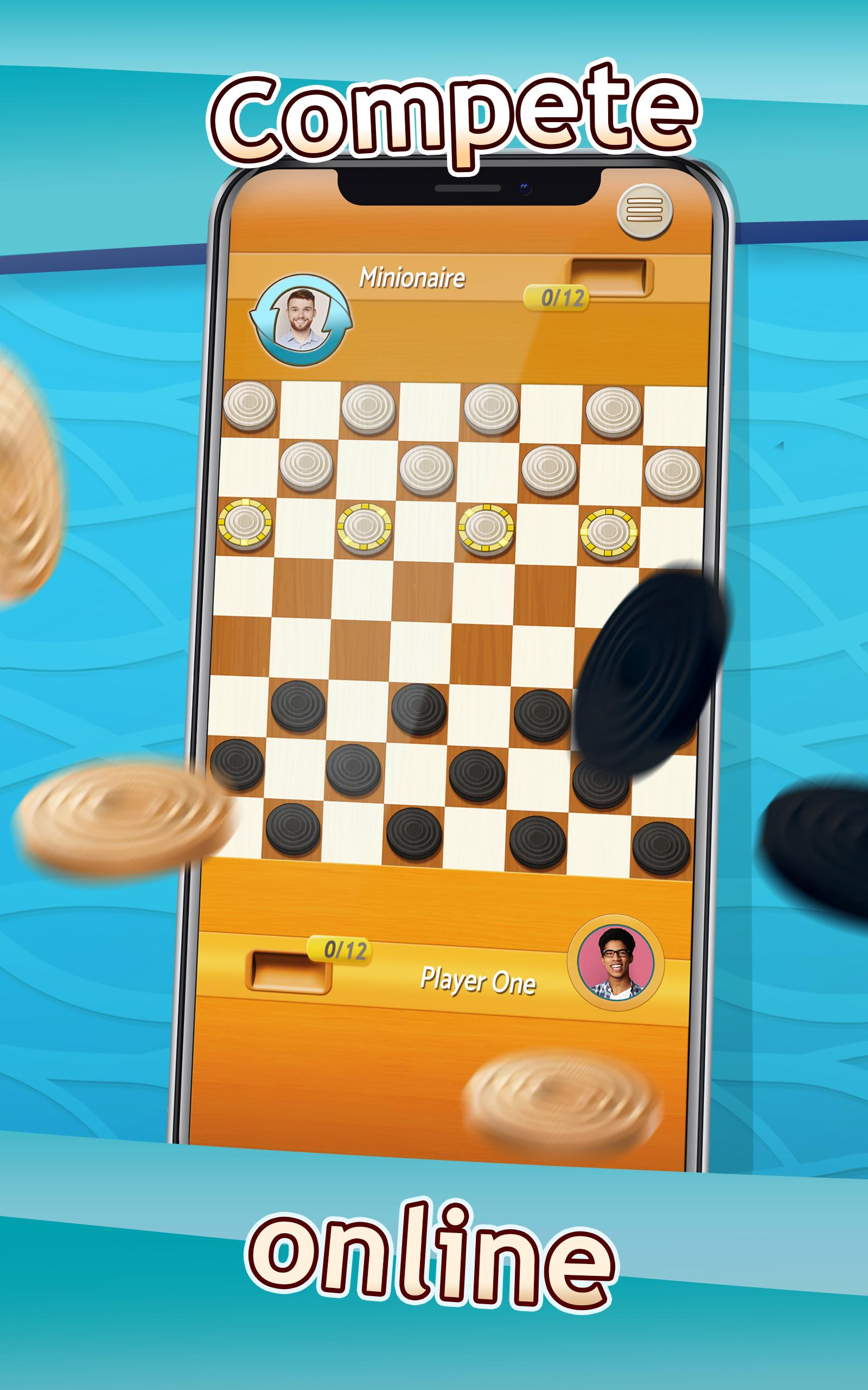 Checkers Draughts Multiplayer Board Game 2.4.4 Screenshot 8