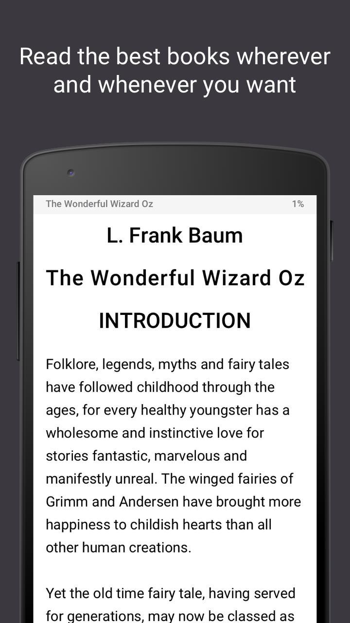 Read books online 3.26 Screenshot 1