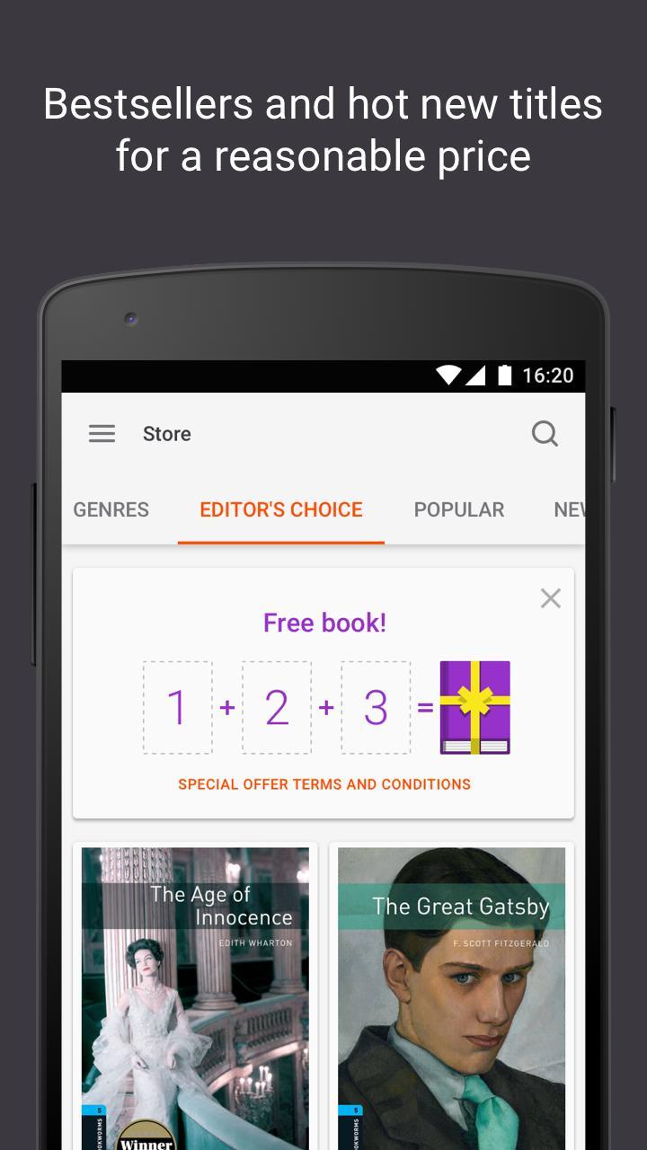 Read books online 3.26 Screenshot 2