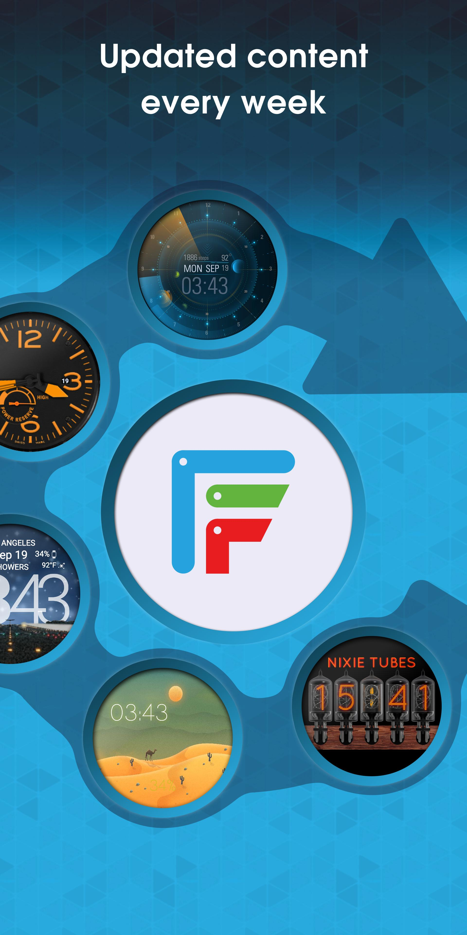 Facer Watch Faces 5.1.33_101817 Screenshot 7