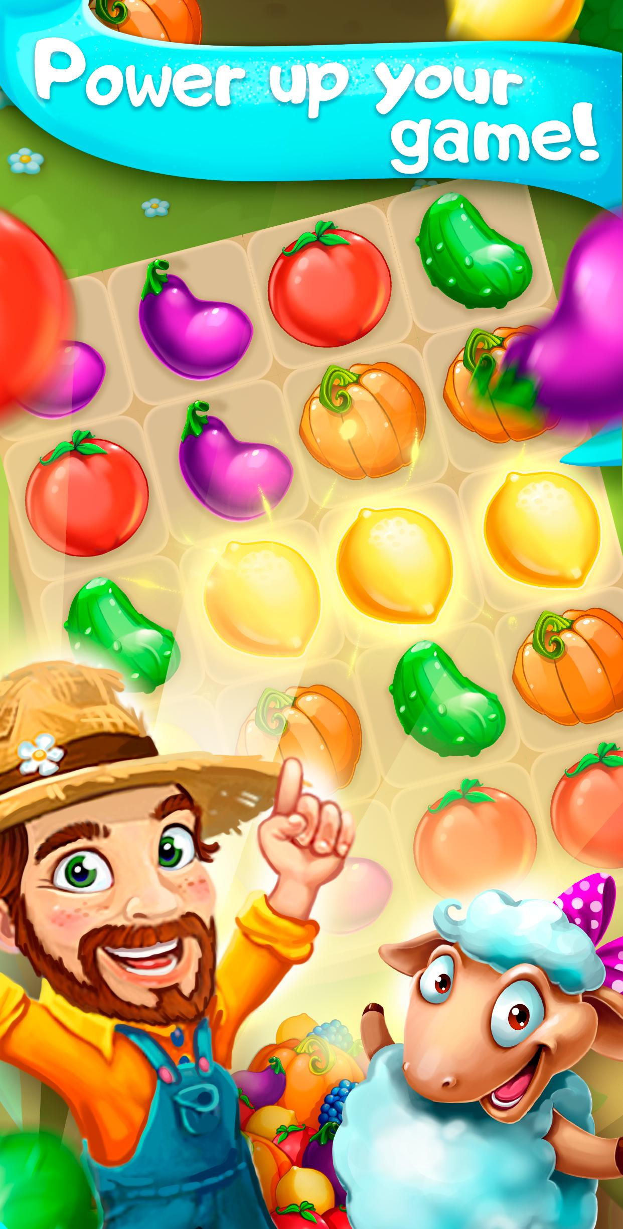 Funny Farm match 3 Puzzle game 1.53.0 Screenshot 4