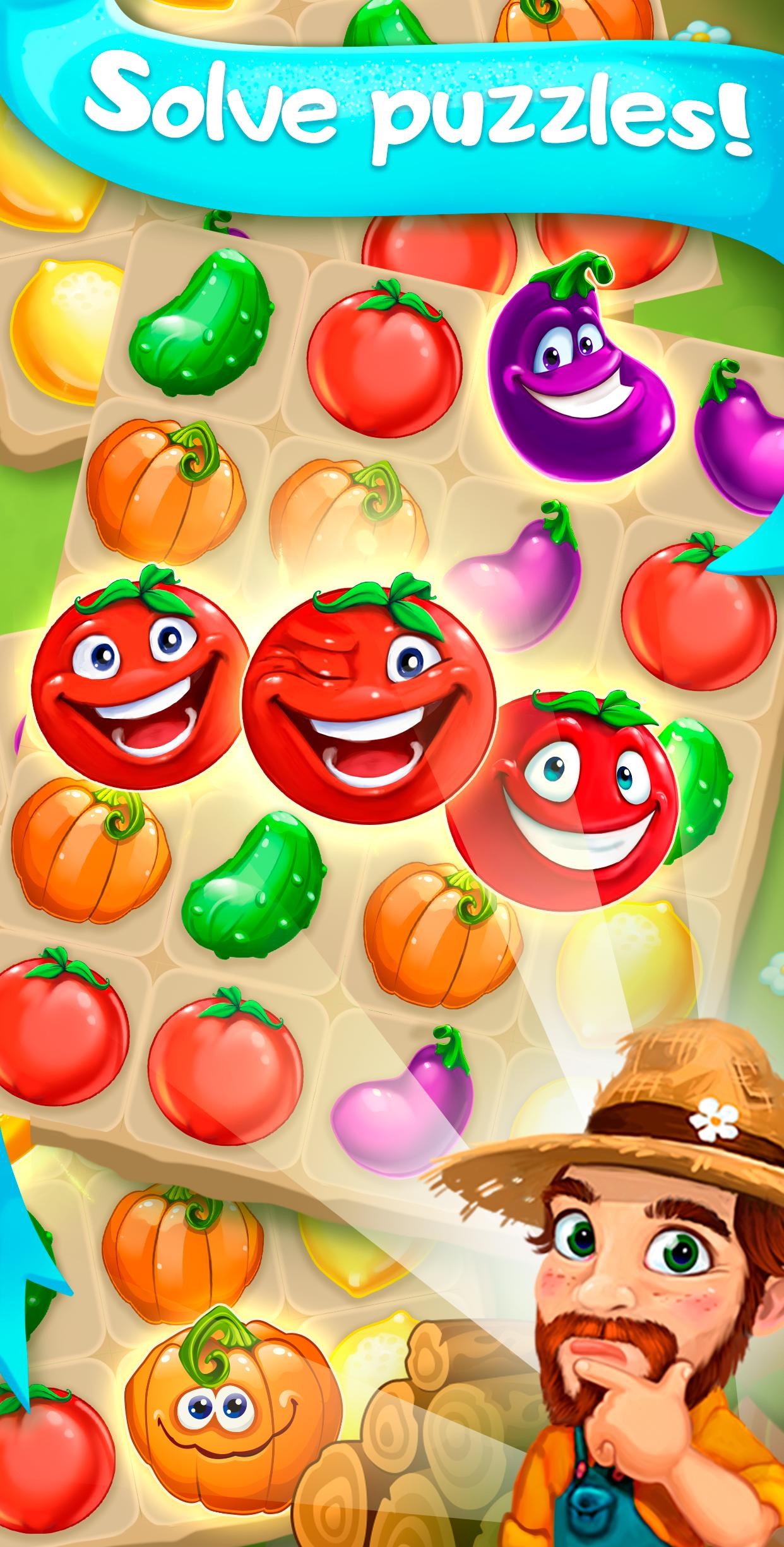 Funny Farm match 3 Puzzle game 1.53.0 Screenshot 5