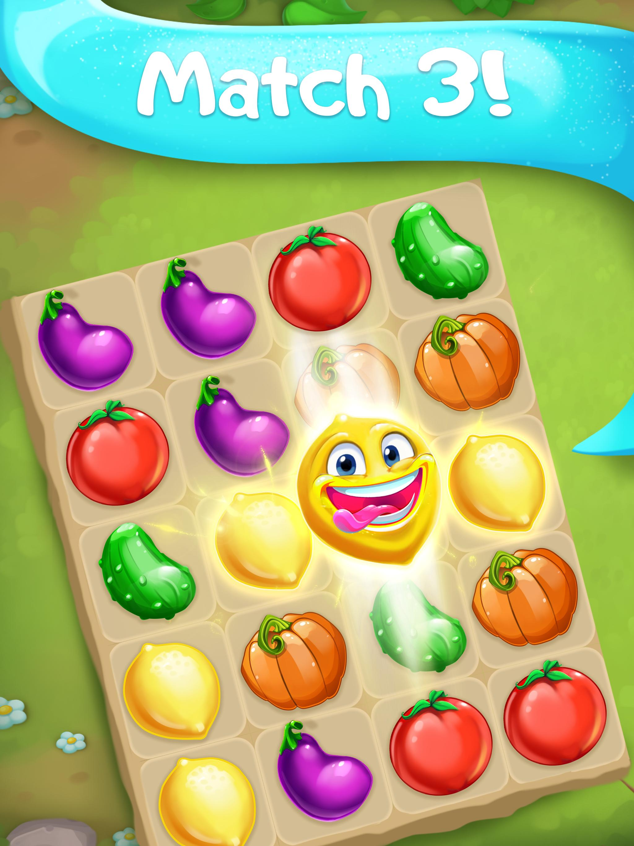 Funny Farm match 3 Puzzle game 1.53.0 Screenshot 6