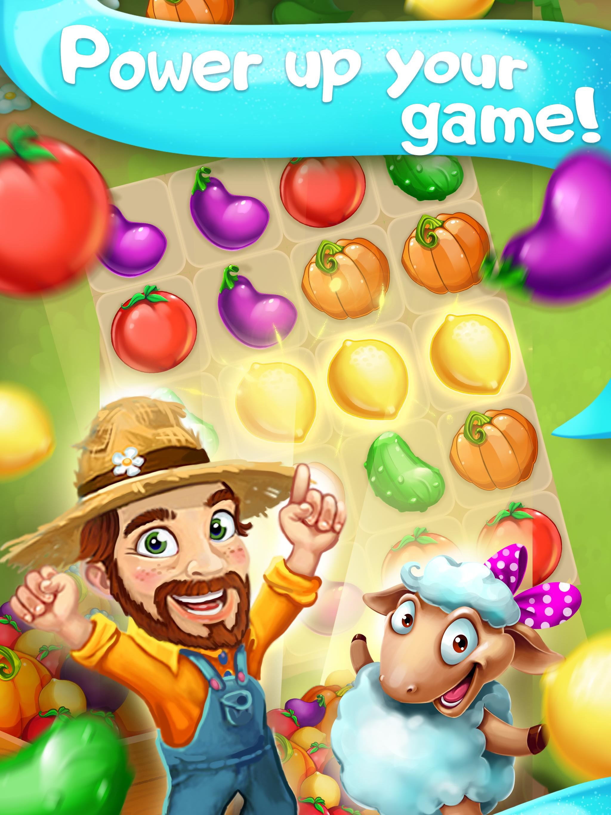 Funny Farm match 3 Puzzle game 1.53.0 Screenshot 9