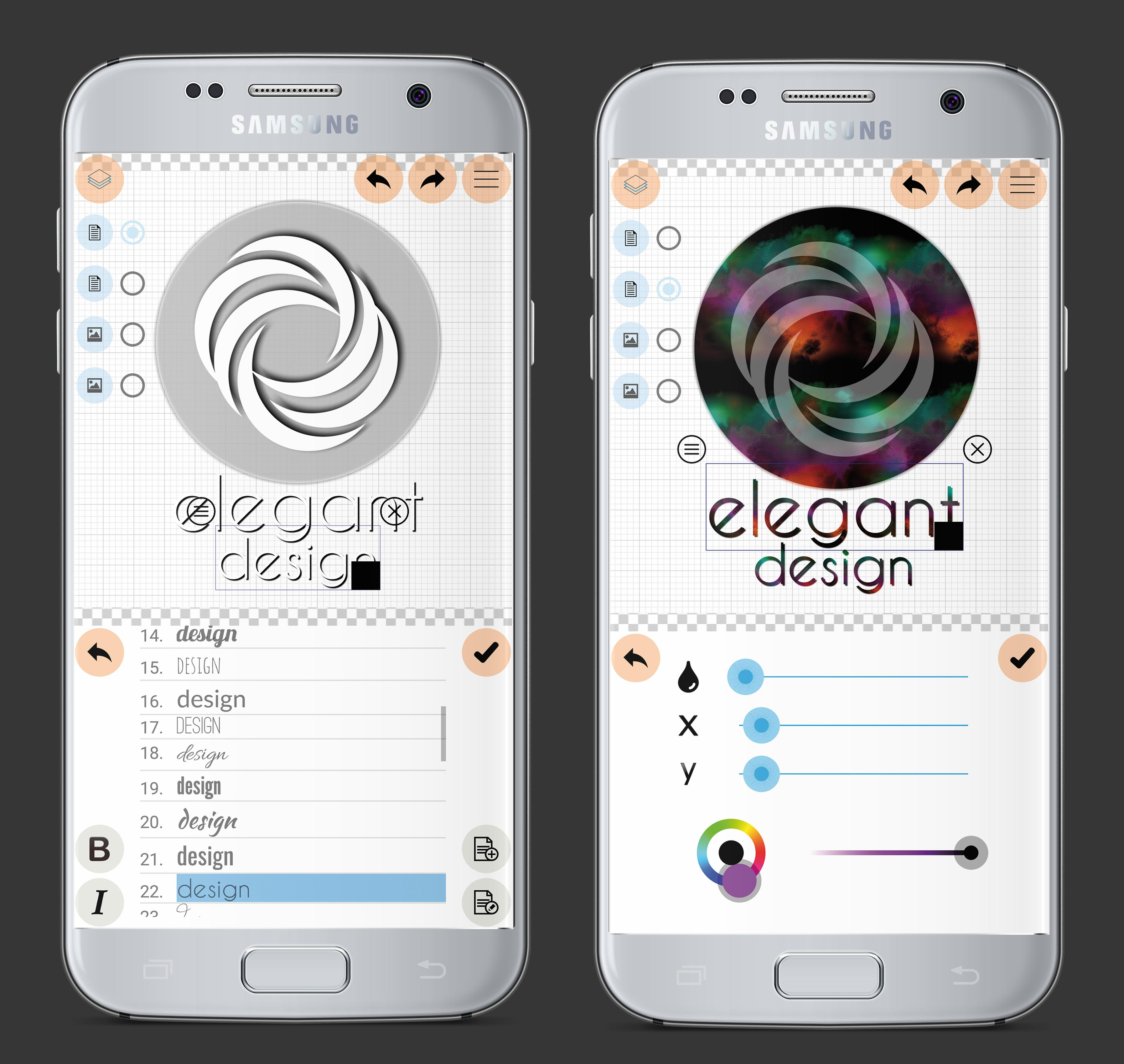 Logo Maker Plus - Graphic Design & Logo Creator 1.2.5.9 Screenshot 7