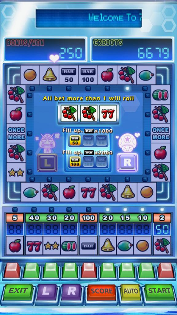 777 Star Slot Machine 1.8 Screenshot 2