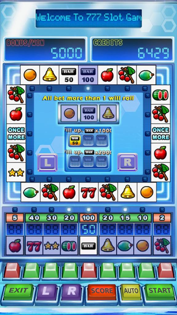 777 Star Slot Machine 1.8 Screenshot 3