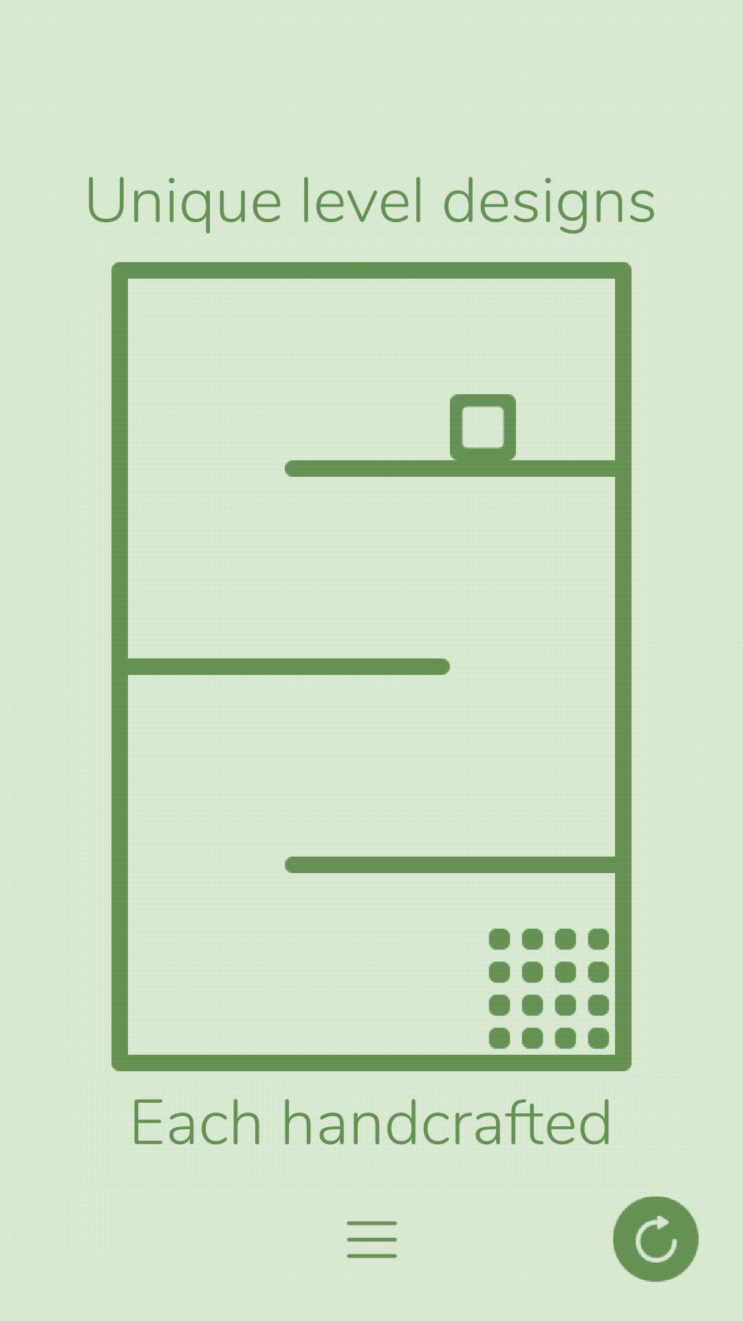 Gravity Box Minimalist Physics Game 1.5 Screenshot 2