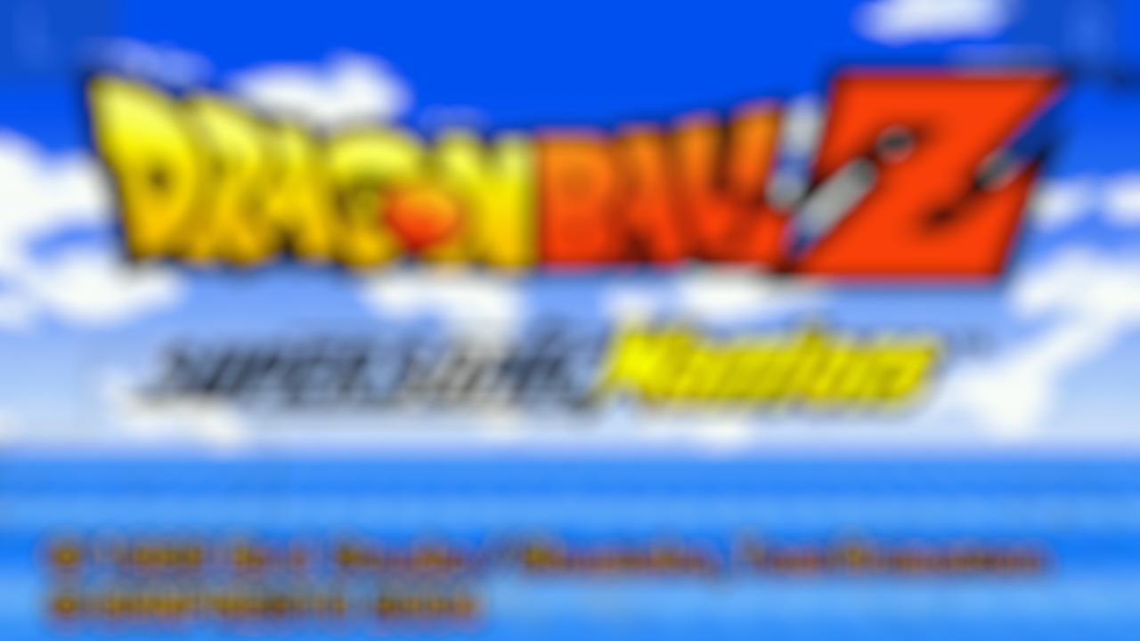 Emulator for DBZ Supersonic Warriors & Tips 3761 Screenshot 1