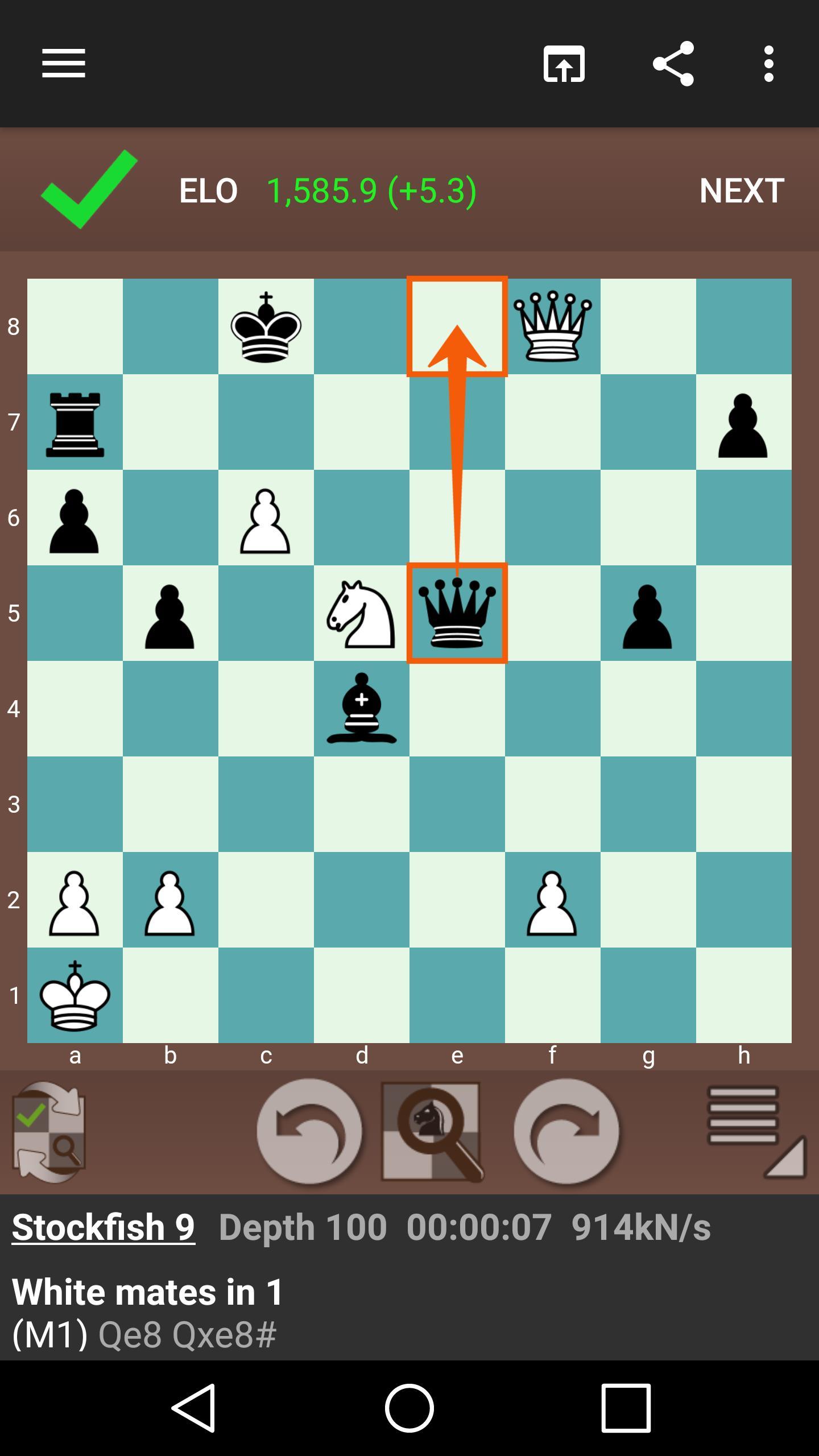 Fun Chess Puzzles Free Play Chess Tactics 2.8.3 Screenshot 2