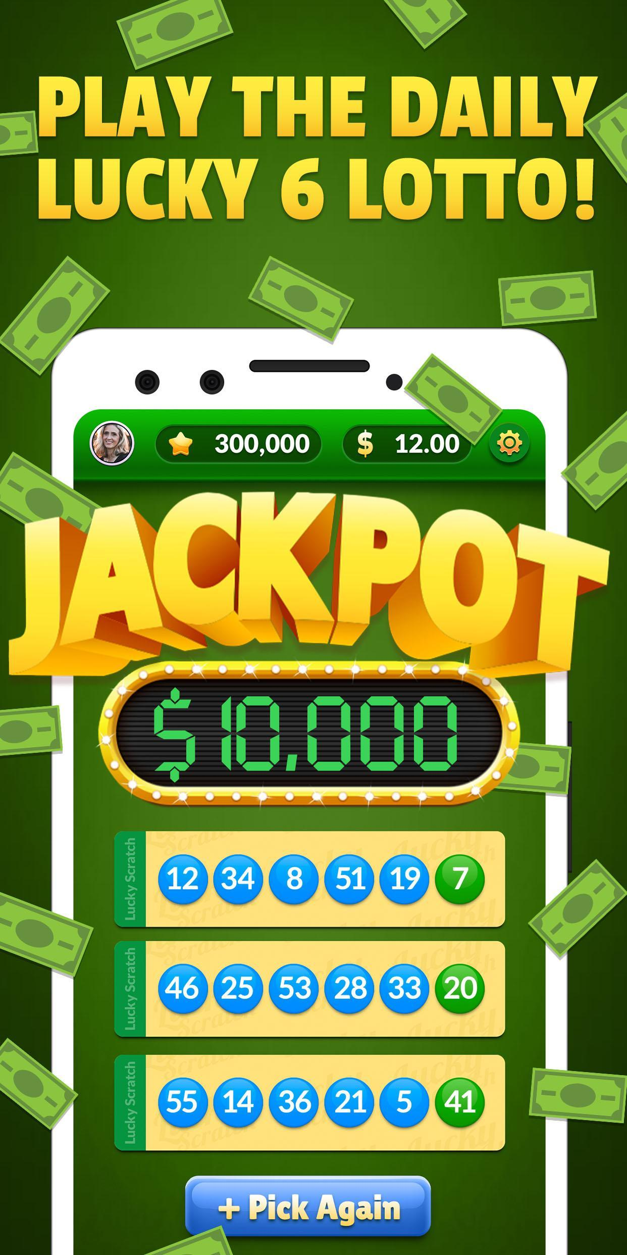Lucky Scratch WIN REAL MONEY- it's your LUCKY DAY 47.0.0 Screenshot 2