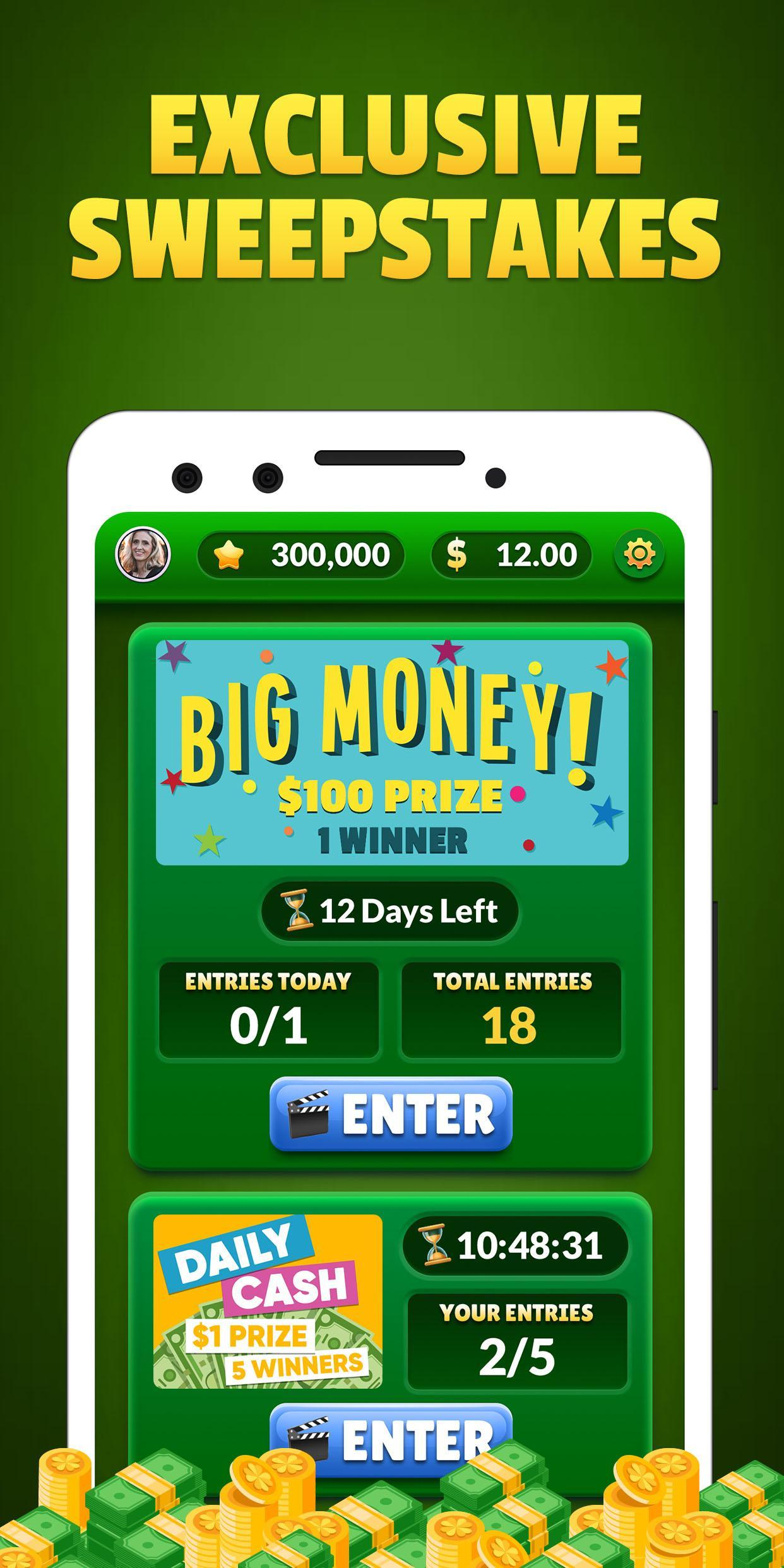 Lucky Scratch WIN REAL MONEY- it's your LUCKY DAY 47.0.0 Screenshot 4
