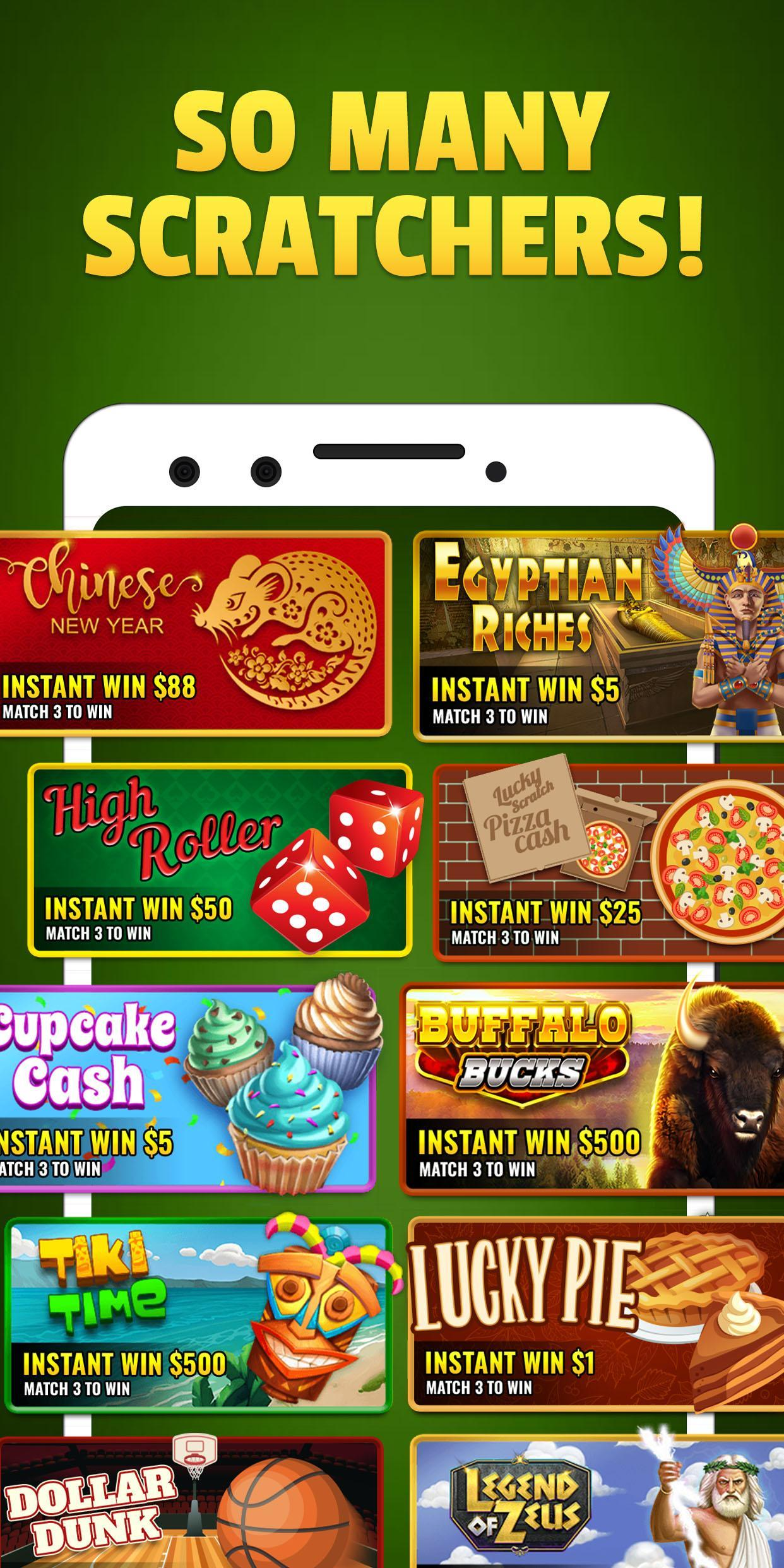 Lucky Scratch WIN REAL MONEY- it's your LUCKY DAY 47.0.0 Screenshot 6