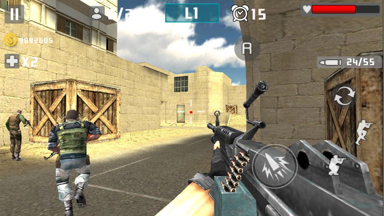 Gun Shot Fire War 1.2.7 Screenshot 1