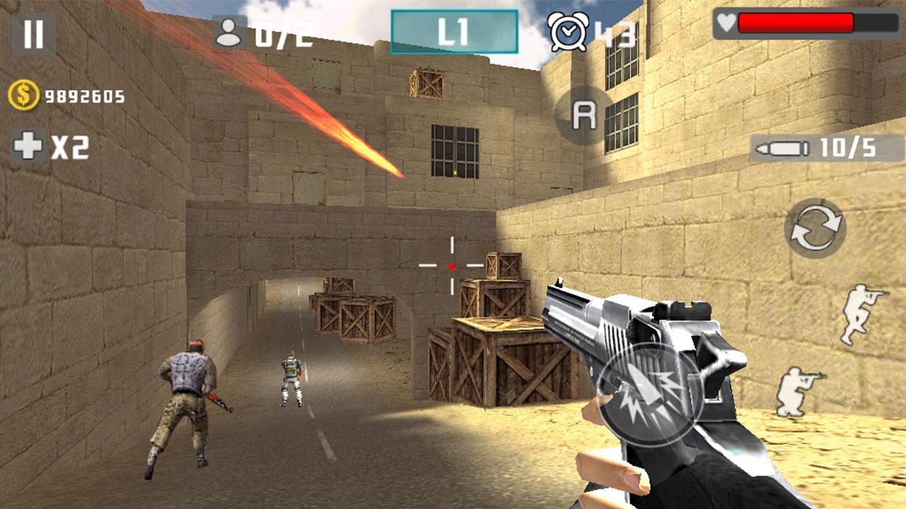Gun Shot Fire War 1.2.7 Screenshot 11