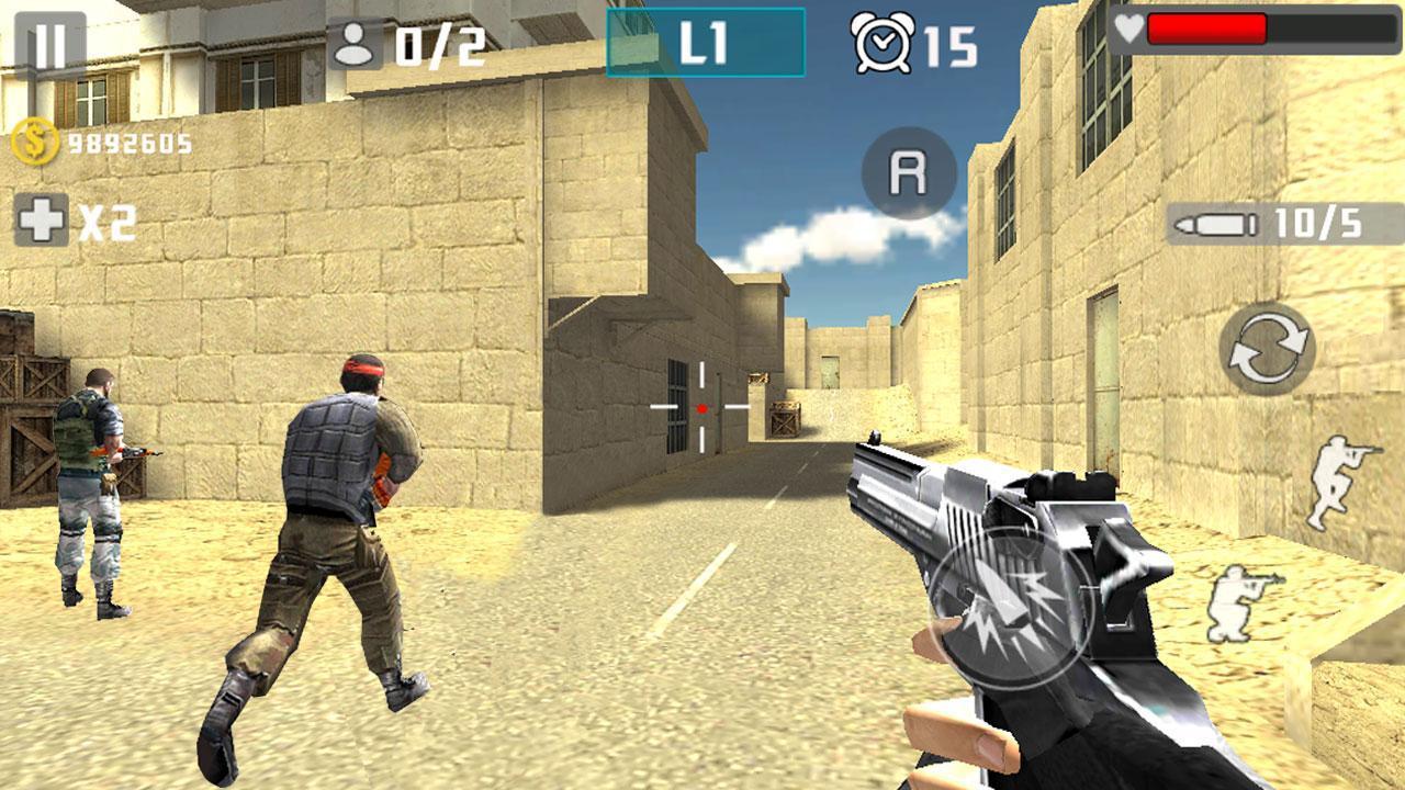 Gun Shot Fire War 1.2.7 Screenshot 2