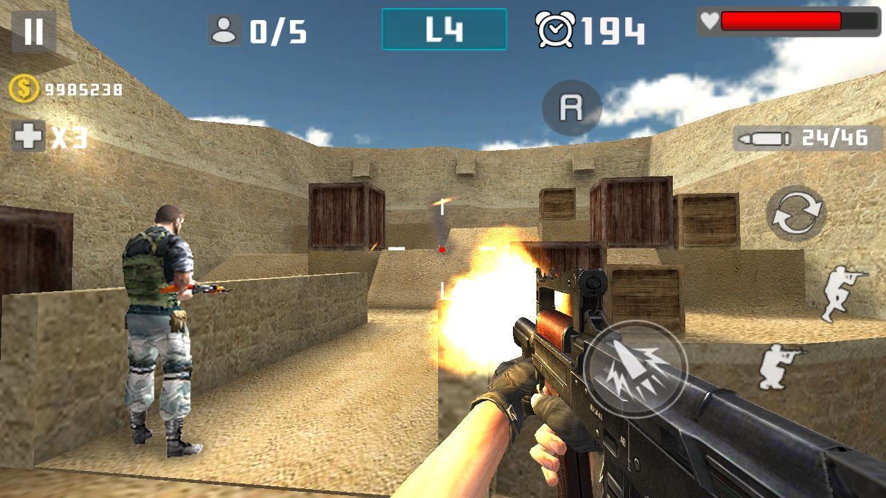 Gun Shot Fire War 1.2.7 Screenshot 7