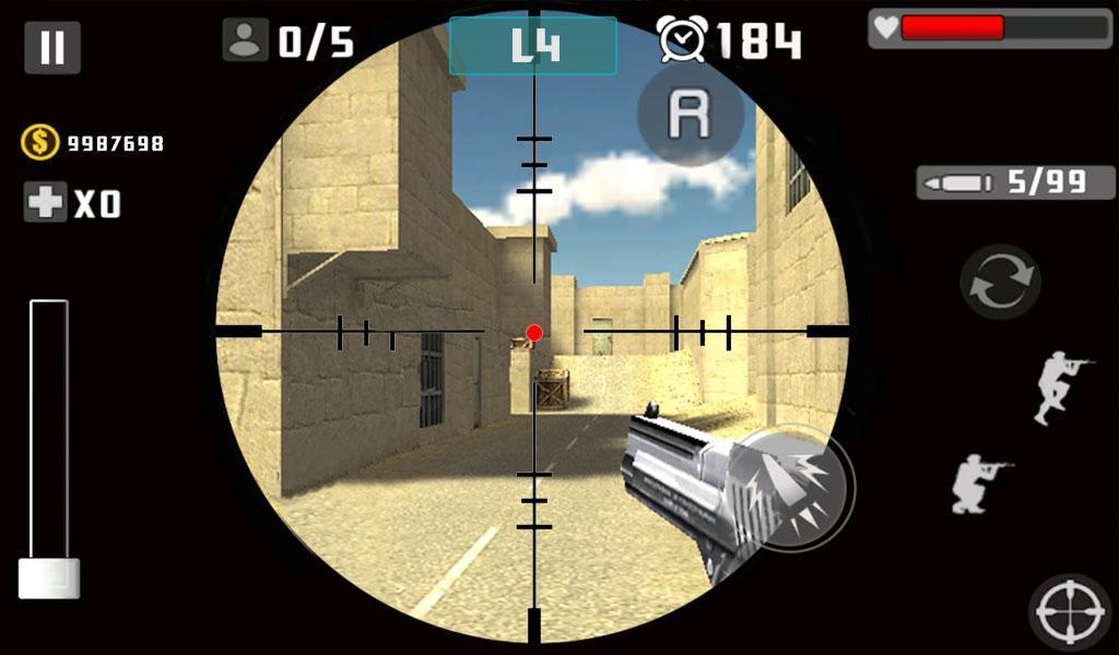 Gun Shot Fire War 1.2.7 Screenshot 8
