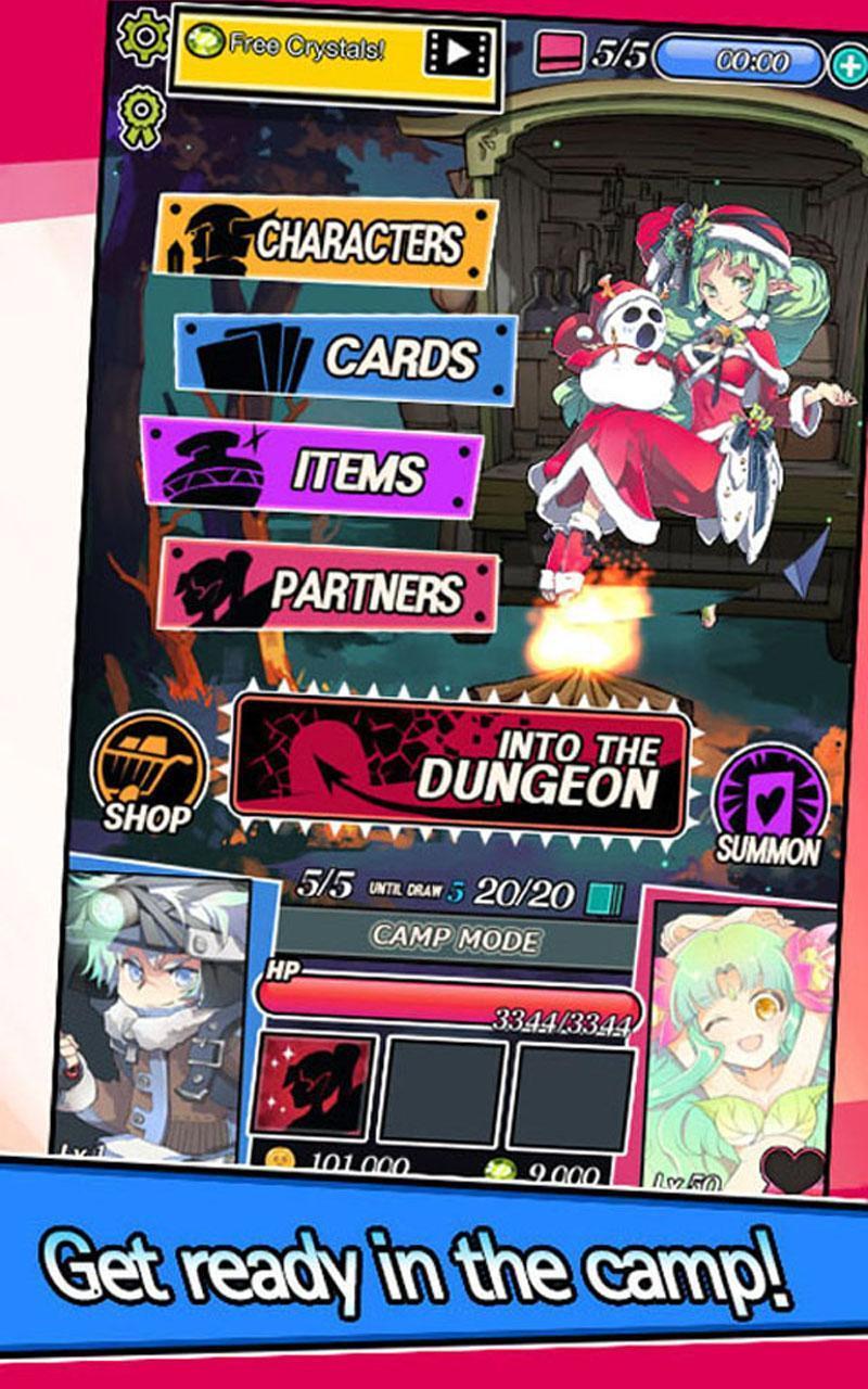 Dungeon & Girls: Card RPG 1.3.6 Screenshot 10