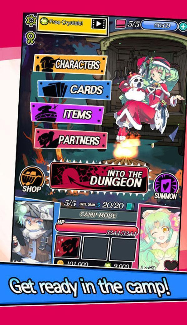Dungeon & Girls: Card RPG 1.3.6 Screenshot 18