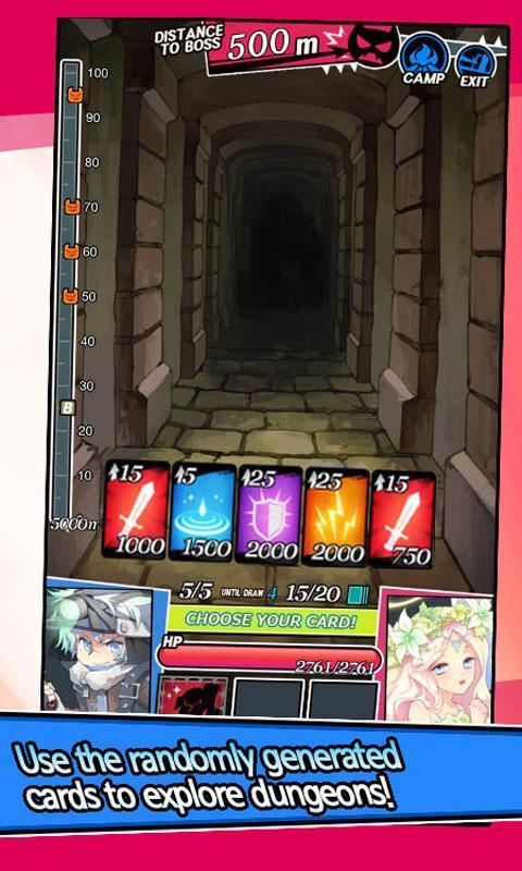Dungeon & Girls: Card RPG 1.3.6 Screenshot 3