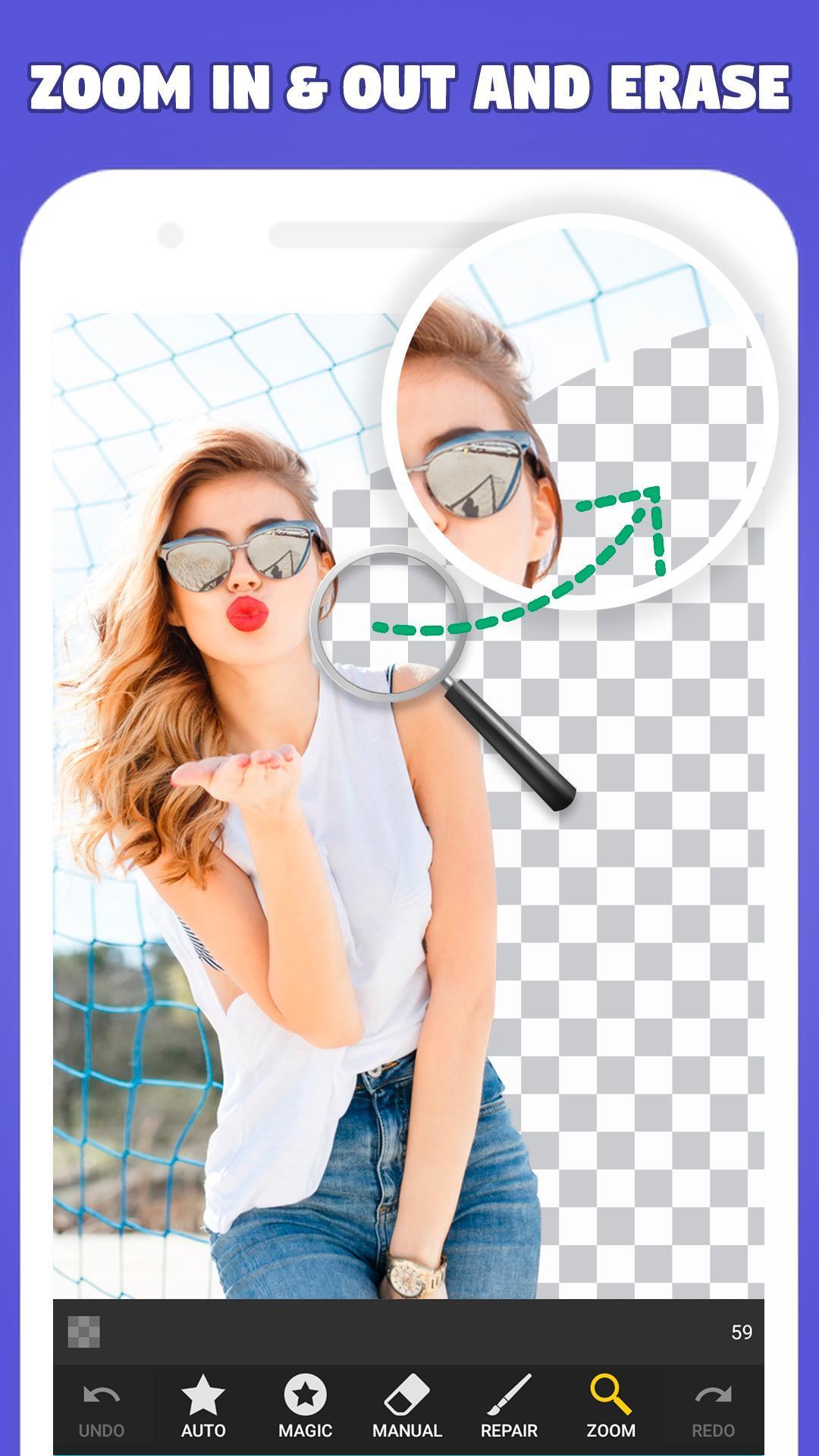 Background Eraser Transparent & White Background 1.2.7 Screenshot 6