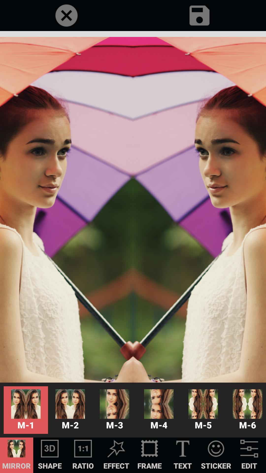Mirror Photo Editor: Collage Maker & Selfie Camera 1.8.1 Screenshot 22