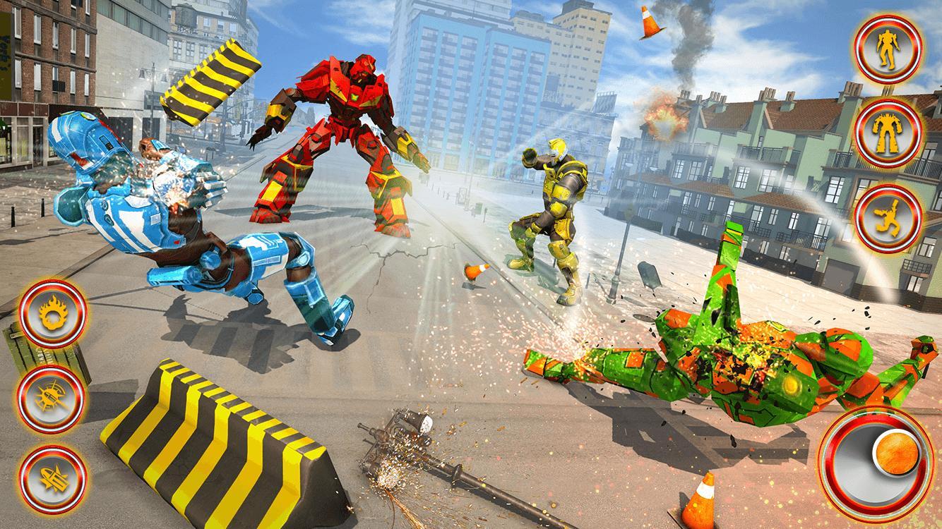 Flying Dragon Robot Car - Robot Transforming Games 2.2 Screenshot 10