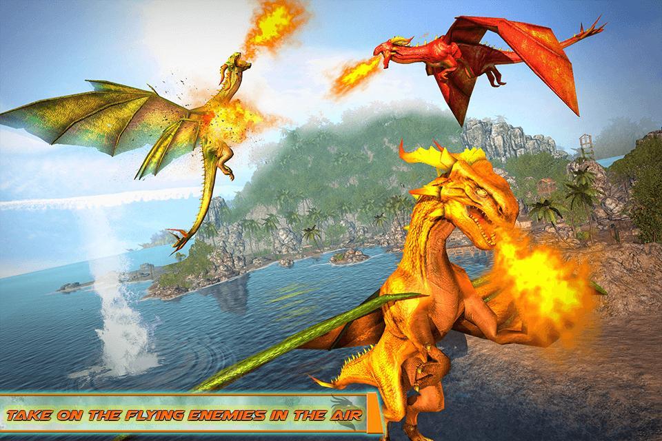 Flying Dragon Robot Car - Robot Transforming Games 2.2 Screenshot 4